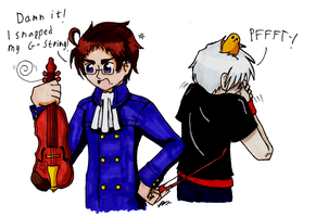 APH: Prussia is Not Mature by Rose-McSugar