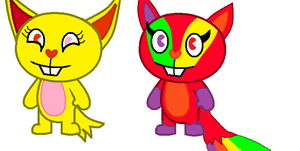 2 New Oc Starburst and Skittles by I-Cry-Blood-4ever