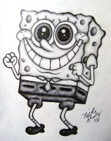 Spongebob Squarepants by linus108Nicole