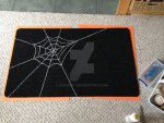 Spiderweb Doormat by Bwabbit