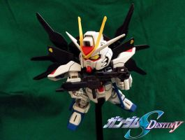 zgmf-x20a strike freedom gundam by sakata92