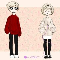 because sweaters are cool by Ten-Ketsu