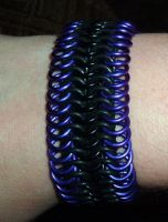 Purple Stretchy by chainmaille