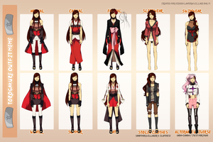 [TG] Yasu Outfits by rieule
