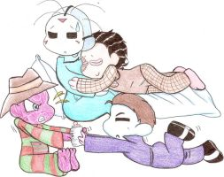 Horror Babies Sleepover by Hippiesforever14