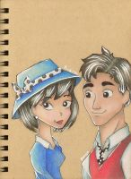 If Pongo and Perdita were Human by Rebellet