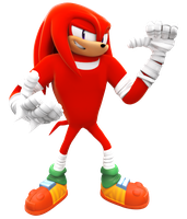 Knuckles Boom New Render by NIBROCrock