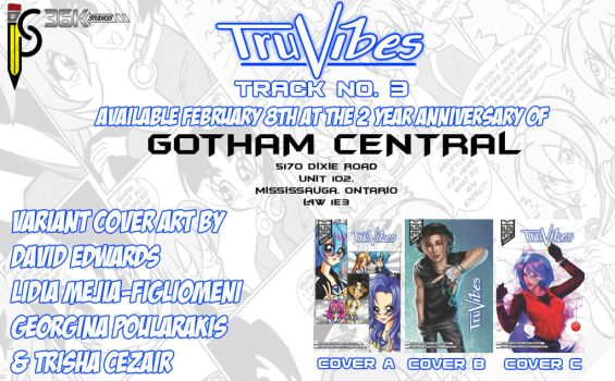 Tru Vibes 3 At Gotham Central by the-kid36