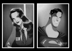 1950 Lois and Clark by Des Taylor by DESPOP