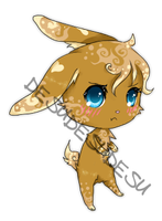Mocha Bunny Adoptable by In3ity