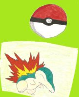 Cyndaquil by T400naruto