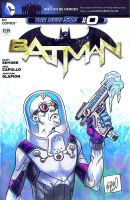 Batman #0 - Mr. Freeze by ADAMshoots