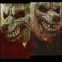 Werewolf Mask2014 by KahlaWolf