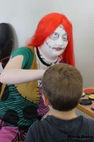 Facepainting at Movie Buffs by Peachey-Photos