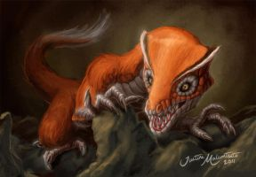 Felionea - The Reptilian Fox by Jujusaurus