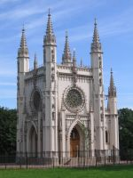 The Gothic chapel by Lady-Legend