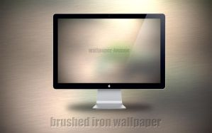 Brushed Iron Wallpaper by wojtekmaj