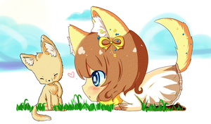GaiaOnline Commission 15 by le-pink-piglet