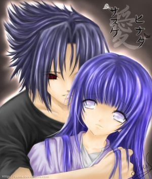 Sasuke and Hinata Anime Picture