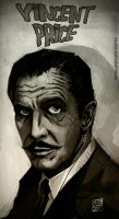 Vincent Price by lordnecro