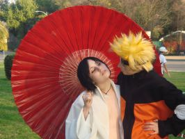 Naruto And Saskue by WillowTreeWitch