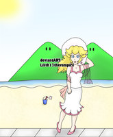 Peachy Beach by Lilith13thevampire