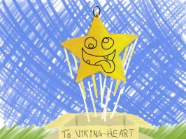 Golden Star for Viking-Heart by esbenlp