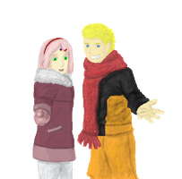 NaruSaku by Colliequest