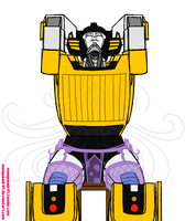 TF: ROLFEB Sunstreaker by Masqueadrift