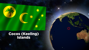 Flag Wallpaper - Cocos (Keeling) Islands by darellnonis