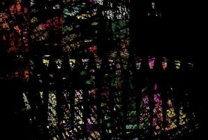 Shattered Stained Glass Window by impostergir007