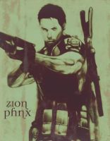 Resident Evil 5 Chris Redfield by ZionPhnx