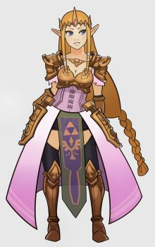 Zelda by SplashBrush