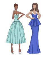 Dresses 1: The Blues by taylor-of-the-phunk