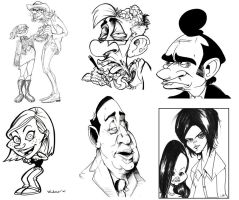 caricatures by sosnw