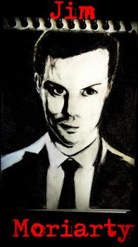 Jim Moriarty by CreepyCatnip