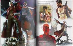The magazine to animation'My name is Dante..'(Eng) by Taitiii