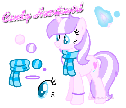 .:OC:. Candy Heartswirl Official Ref by Candy-Heartswirl