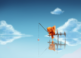 Fishing by Foxeaf