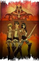 Attack On Titan by spicemaster