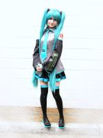 Miku Hatsune Cosplay 4 by Jemminem