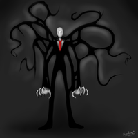 The Slender Man. owo by BlazeCookie