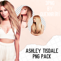 Ashley Tisdale Png Pack by QuennRiRi