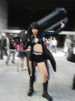 Black Rock Shooter 2014 by Leuxdeluxe