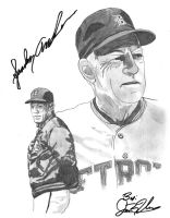 Sparky Anderson by NewEraUsher