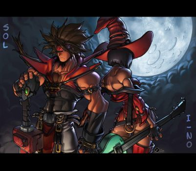 Guilty Gear by FabianMonk