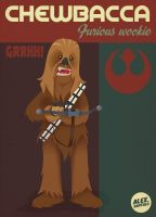 Chewbacca by alexsantalo