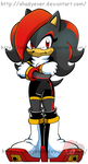 Archie Shady The Hedgehog COLOURED by shadyever