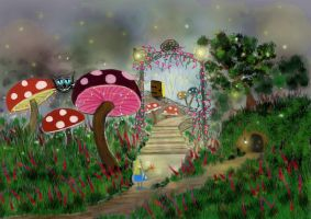 Alice in Fairyland by StrandedAutumn