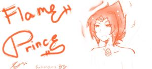 Flame Prince by riamarie33